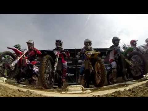 WMX of Czech Republic 2014 Race 2 Highlights - Motocross