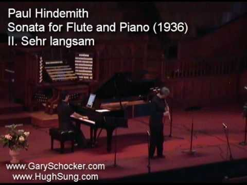 Gary Schocker and Hugh Sung play Hindemith Part 2