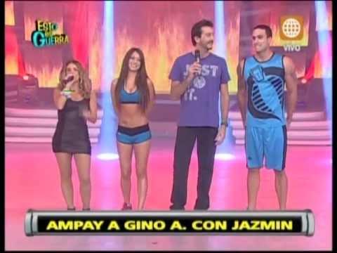JAZMIN PINEDO DECIDE CANTAR CON GINO ASSERETO