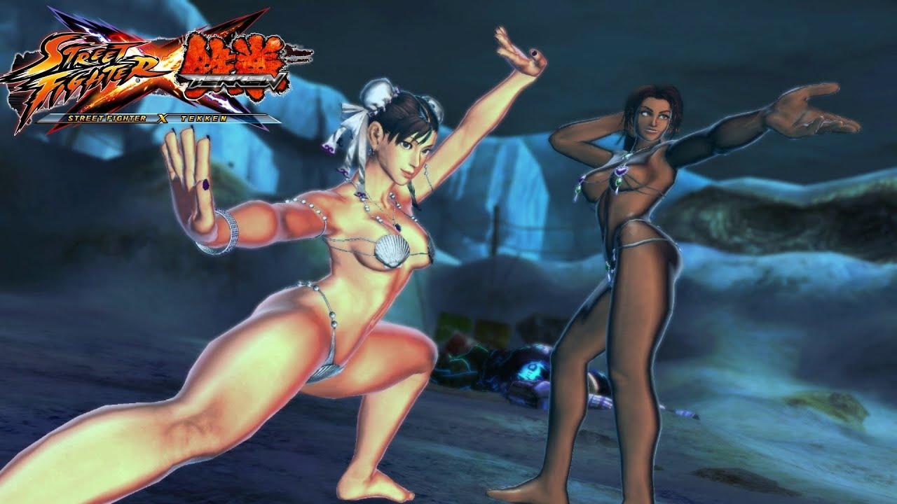 Tekken x street fighter nude mods porno scene