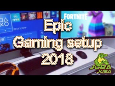 EPIC GAMING SETUP TOUR 2018