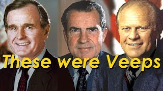 The REAL Veeps. Some became President.