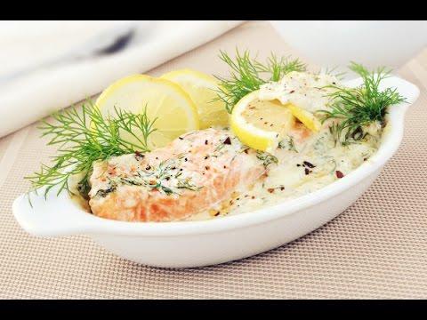 Семга запеченная в духовке в сливочном соусе / How to Make Baked Salmon Recipe