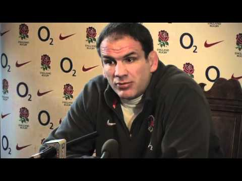 Martin Johnson Team Announcement ENG v Wales - Martin Johnson discusses his England selections for W