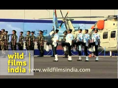 March past of Indian Air Force (IAF)
