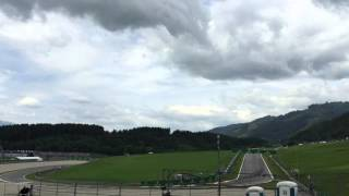 View from front of Nord (North) grandstand at Red Bull Ring, 2015 Austrian GP