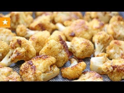 Как запечь капусту в духовке - видео