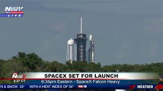 WATCH: SpaceX Falcon Heavy Launch Preview