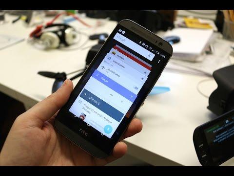 HTC One (M8), prova di Lollipop 5.0.1 ufficiale
