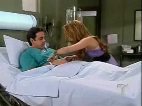 Dame Chocolate/ Violeta visita a Bruce en el hospital
