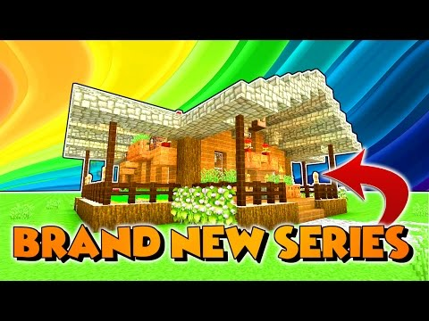 HOW TO BUILD A MINECRAFT SURVIVAL HOUSE!! // TUTORIAL TUESDAYS [1] // MINECRAFT XBOX