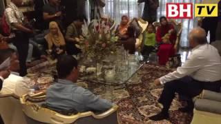 Sidang media Datuk Seri Najib Razak selepas  pertemuan dengan mangsa culik Abu Sayyaf, pagi ini