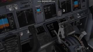X PLANE 11 ANKARA-İSTANBUL(SABİHA) BOEING 737-800
