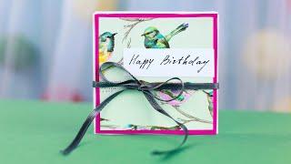 Скрапбукинг-фотоальбом на день рождения своими руками