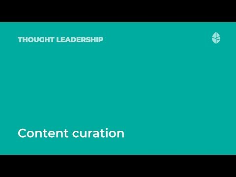 Content Curation on the Social Intranet: Shel Holtz Interview