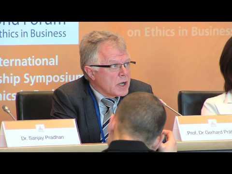 WFEB 2012 - Prof. Dr. Gerhard Prätorius - Head of CSR, Volkswagen AG