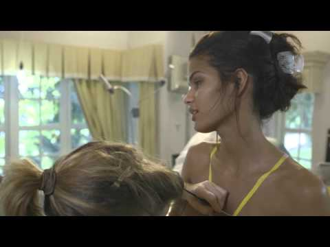 Cris Urena 2014 Sports Illustrated Swimsuit Body Painting Video