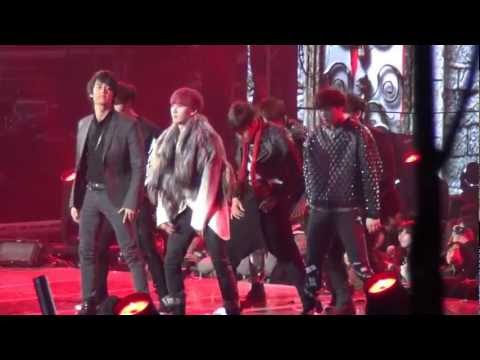 20121229 SM Entertainment Special Dance Team (SM7) @ SBS Gayo Daejun