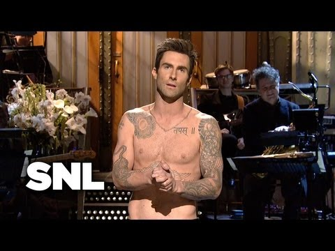 Adam Levine Monologue - Saturday Night Live