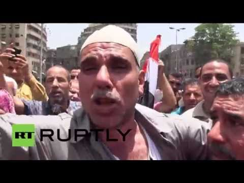 Egypt: Hundreds hit Cairo to celebrate el-Sisi's victory