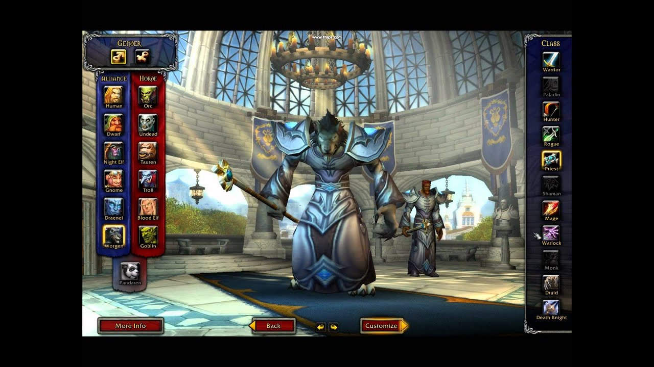 WoW human alliance warrior builds naked movie