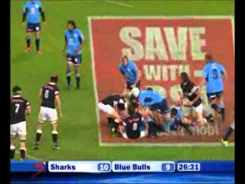 Sharks vs Blue Bulls Currie Cup - Rugby Video Highlights 2011