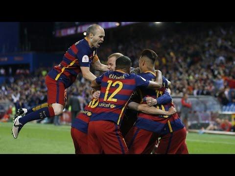 Copa del Rey Final | Barcelona Beat Sevilla 2-0