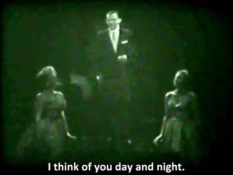 Frank Sinatra - Night and Day - Live On TV 1957 - with Lyrics
