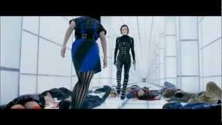 Resident Evil: Retribution - Resident Evil 5: Retribution. White Corridor Fight Scene. HD 1080p.
