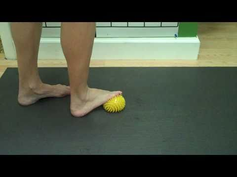 Foot #1 - Ball rolls and pick ups # 1. Plantar fasciitis protocol