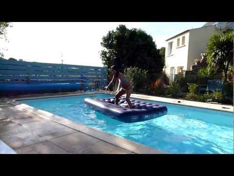 Hot Filipina Girl Plays In Swimming Pool video