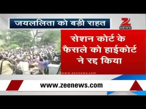 Karnataka High Court acquits J Jayalalithaa in disproportionate assets case