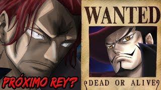 *CONFIRMADO* Shanks es el Pirata Más Cercano a CONVERTIRSE EN EL REY   Mihawk SI Tenía RECOMPENSA