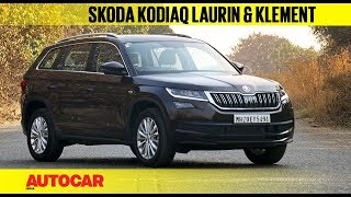 Skoda Kodiaq Laurin & Klement (L&K) | First Look | Autocar India