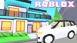 New Celebrity Mansion! Roblox: 🔥CELEBRITY🔥 Adopt Me! Indoor pool & SUV