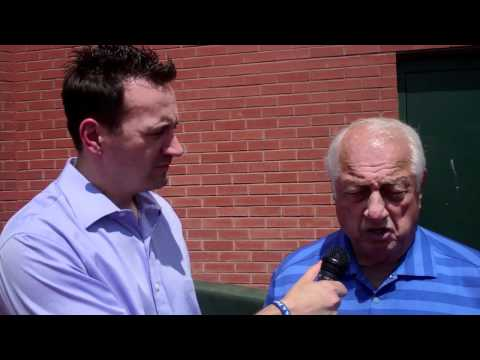 Mick Gillispie with Tommy Lasorda July 3, 2012