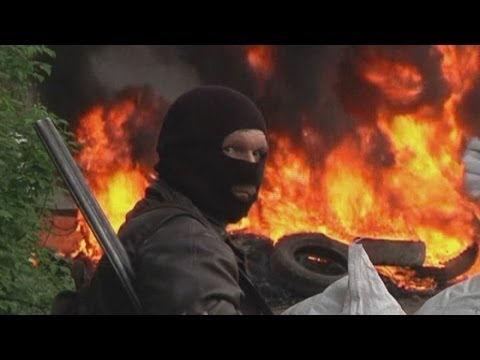Ukraine crisis: Helicopter pilot killed after missile attack to retake Slaviansk