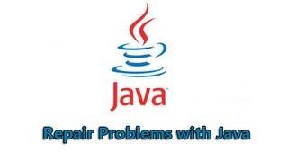 Repair Problems with Java