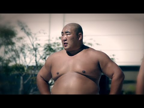 World Sumo Champion Byamba montage 2013