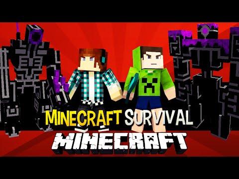 Minecraft Survival Ep.92 - Robôs Gigantes e Torre dos Desafios !! ESPECIAL