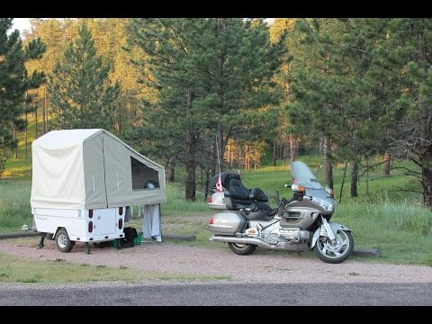 Mini Mate Motorcycle Camper by Kompact Kamp Trailers