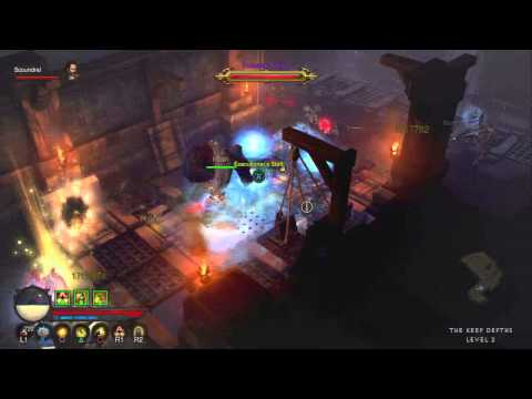 Diablo 3 (PS3) – XP Farming Run – Act III (Monk)