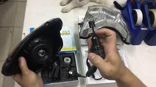 So sánh độ sáng đèn Led XHP70 L8 chính hãng và đèn Led T6 3 Color