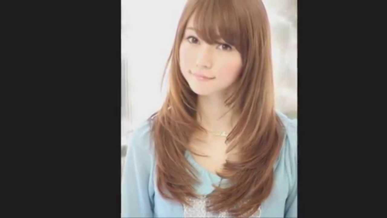 Model Potongan Rambut Wanita 20132014 Terbaru Untuk Wajah Bulat