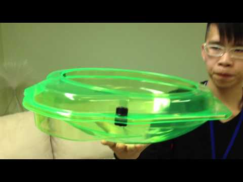 DEFENSE STADIUM BBG-11 Beyblade Zero-G Unboxing & Review - SLIME GREEN