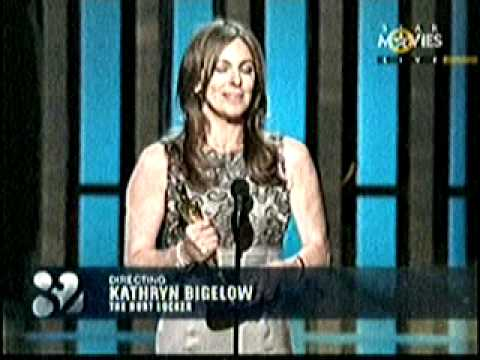 BEST DIRECTOR KATHRYN BIGELOW  FOR HURT LOCKER