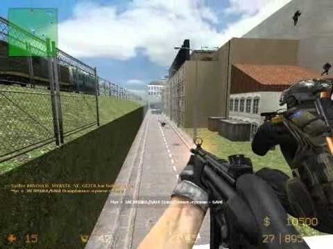 Counter strike source zombie escape Rooftop_RunAway