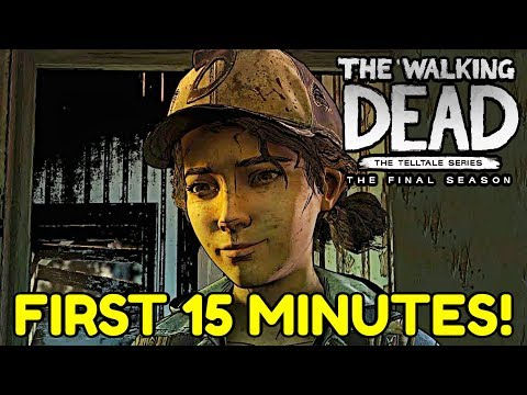 """The Walking Dead:Season 4: """"The Final Season"""" Episode 1 Gameplay First 15 minutes - No Commentary"""