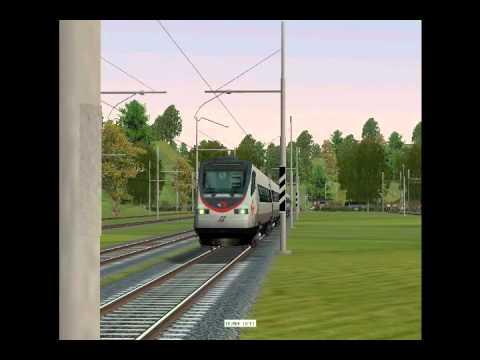 Eurostar 9415 Venezia - Roma Deviato sulla Linea Lenta!