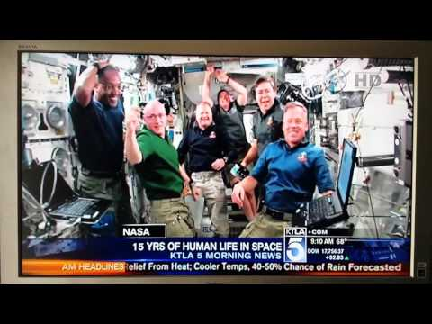 CELEBRATE 15 YEARS OF LIFE ON SPACE STATION